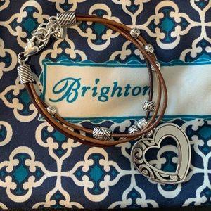 NWOT Brighton heart bracelet